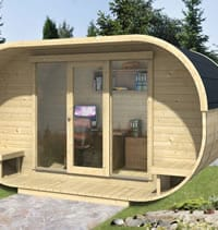 Garden offices 01 tuin tuindeco blog for Flat pack garden room