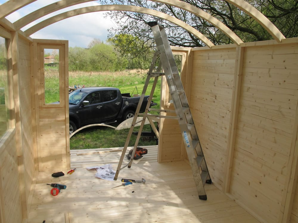 Shepherd hut gypsy wagon tuin tuindeco blog for A frame hut plans