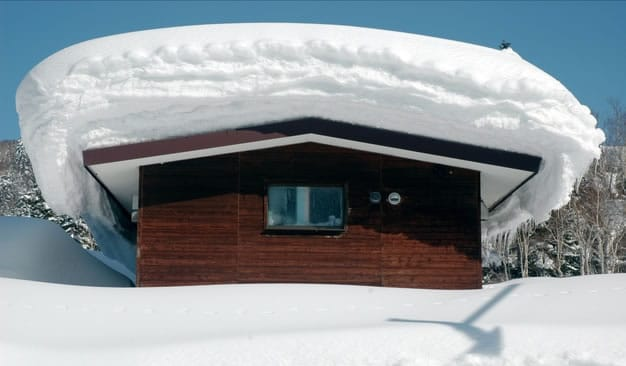 Richard tuin tuindeco blog for Snow loads on roofs