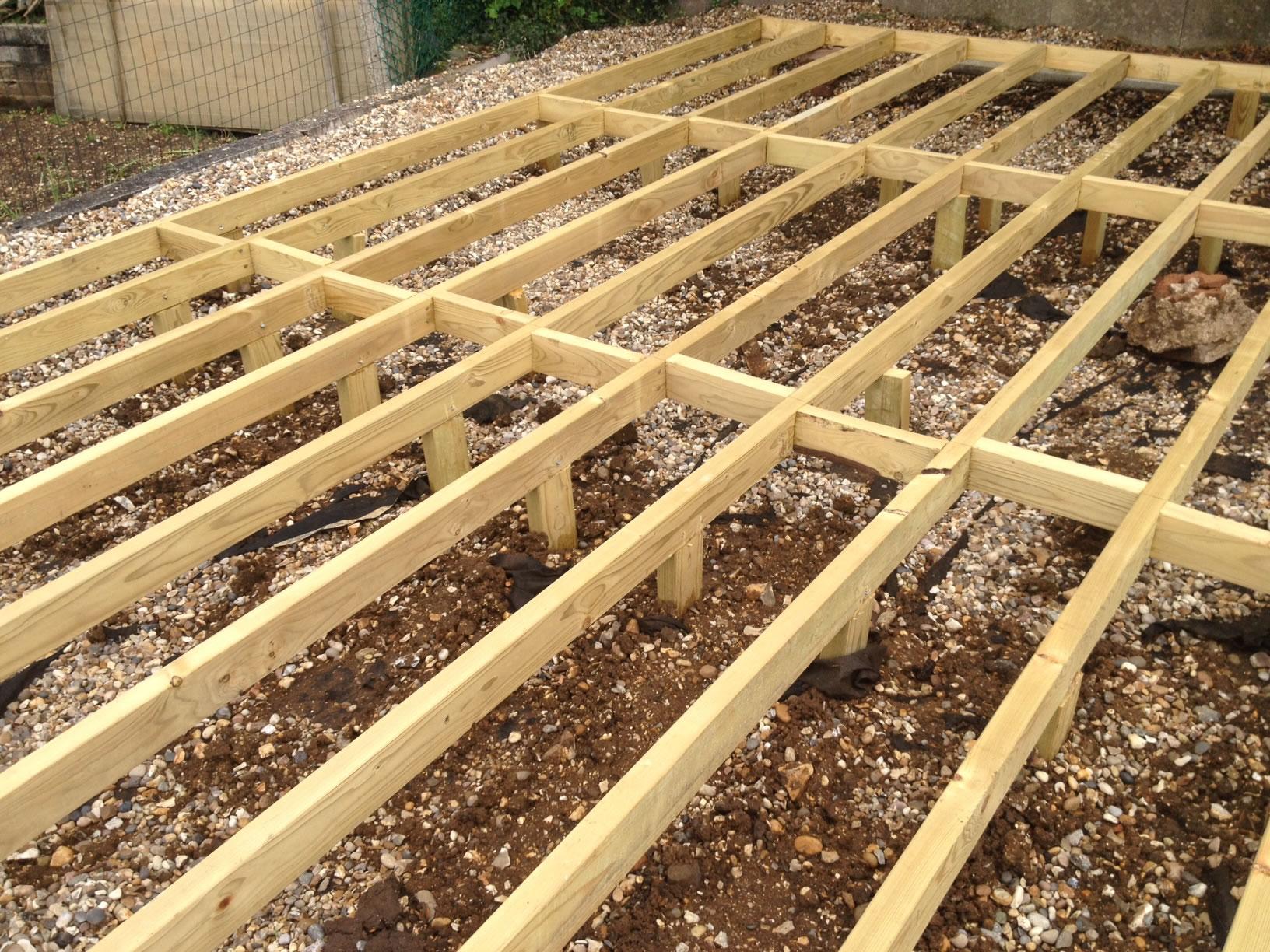 Timber frame base for log cabins tuin tuindeco blog for Timber frame floor