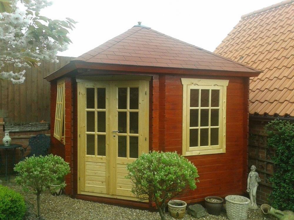 dagmar corner log cabin 45mm logs tuin tuindeco blog. Black Bedroom Furniture Sets. Home Design Ideas