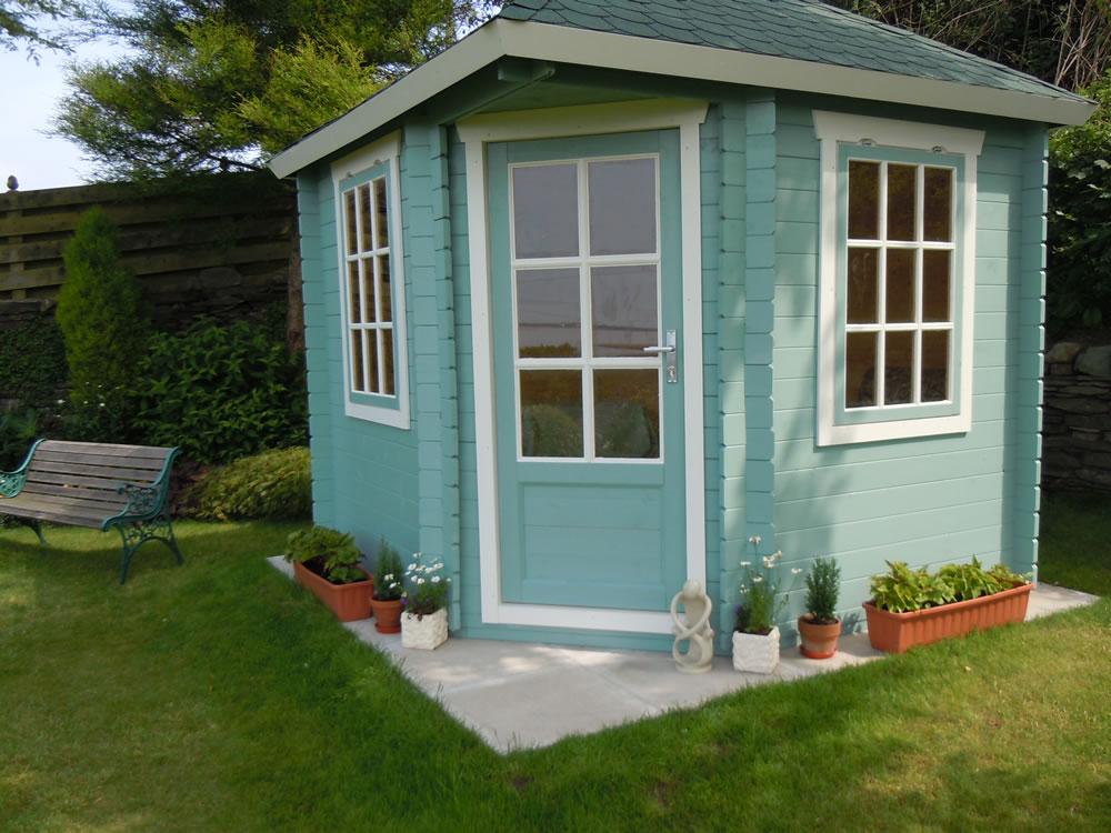 daniel corner log cabin tuin tuindeco blog. Black Bedroom Furniture Sets. Home Design Ideas
