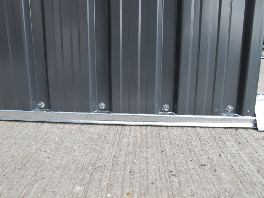 Stainless Steel Sheds : Metal shed fitting tuin tuindeco