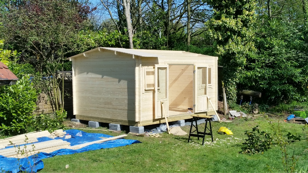 how to build 5 5 cabin