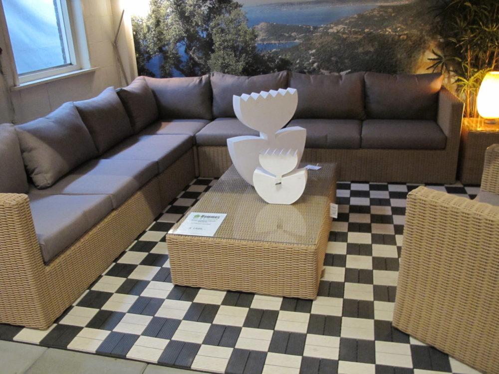 Lounge Set Tuin : The oakland wicker lounge set tuin tuindeco