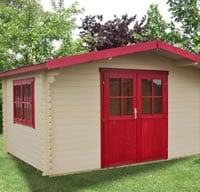 Get a REALLY cheap log cabin from Tuin if you want?