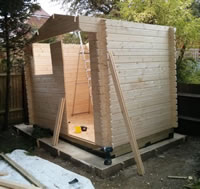 External log cabin forum