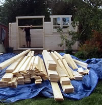 Customer review of a 58mm log cabin