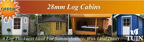 28mm Log Cabins