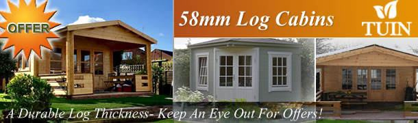 58mm Log Cabins