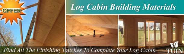 Log Cabin Building Materials