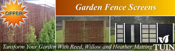 Garden Fence Screens