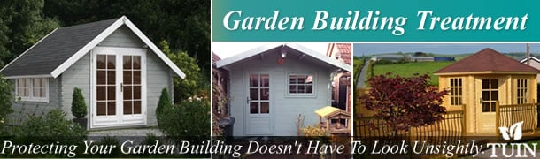 Garden Building Treatment - Tuin