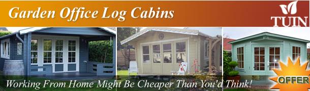 Garden Office Log Cabins