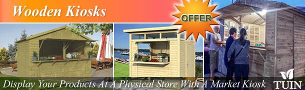 Wooden Kiosks