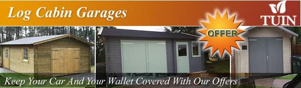 Log Cabin Garages