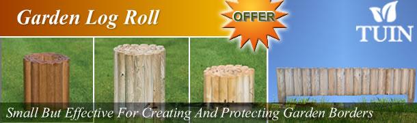 Garden Log Roll