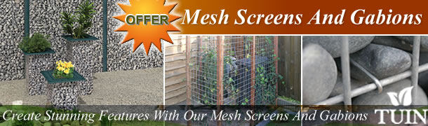 Garden Mesh Screens And Gabions