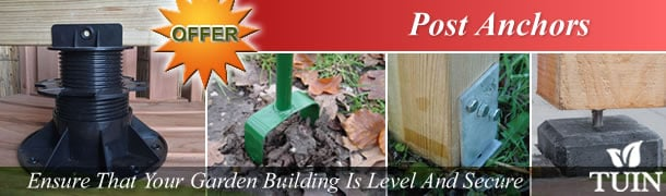 Post Anchors For Garden Buildings