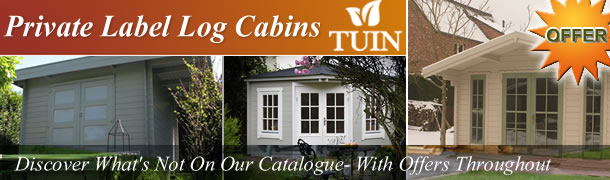 Private Label Log Cabins