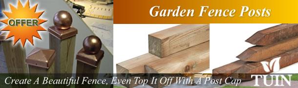Garden Fence Posts