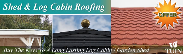 Shed And Log Cabin Roofing