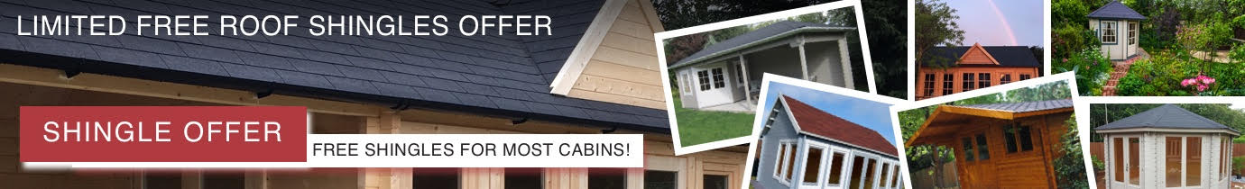 Sale prices and FREE roof shingles offer