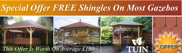 Free Shingles For Gazebos
