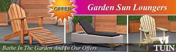 Garden Sun Loungers
