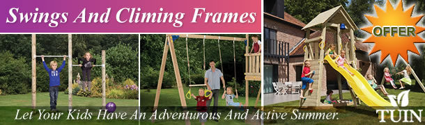 Swings And Climbing Frames