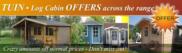 Log Cabin SALE now on across the ranges