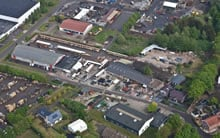 Another ariel shot of tuin warehousing
