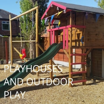 Playhouses and Outdoor Play