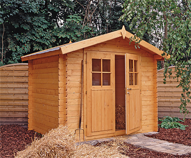 Robert log cabin