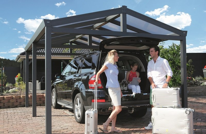 Single Apex Carport