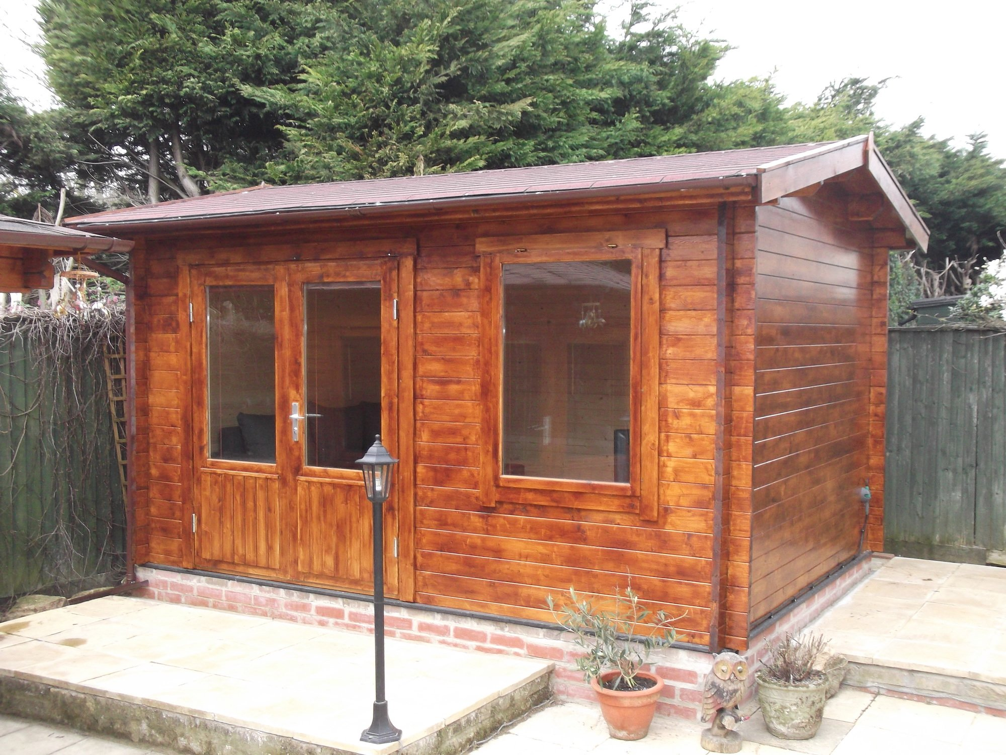 Chloe 40mm Log Cabin 4x3m
