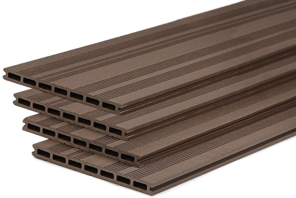 Composite Decking Board Coffee 25cm