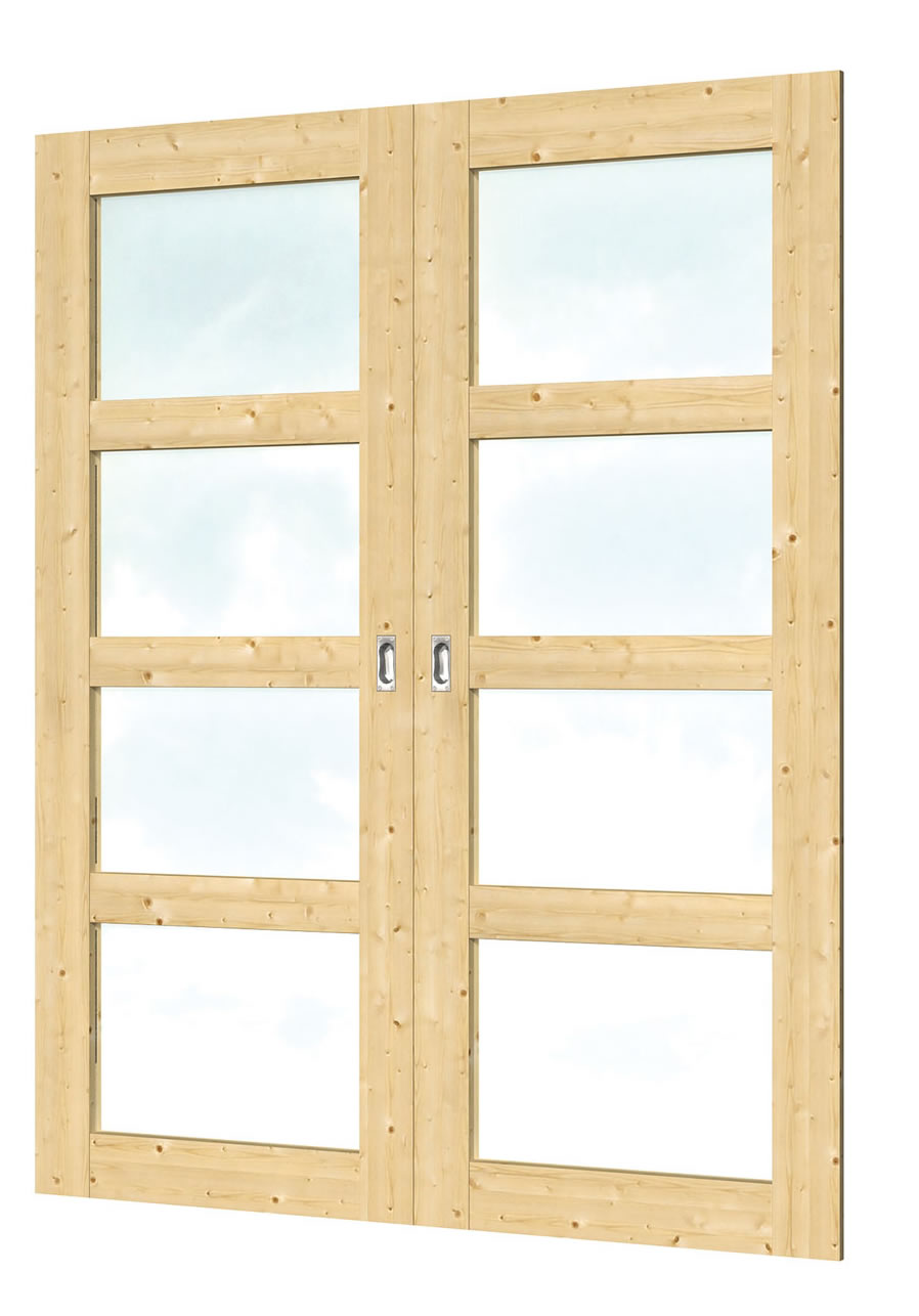 40.1964 Sliding Doors - D9 - W152.7 x H198cm