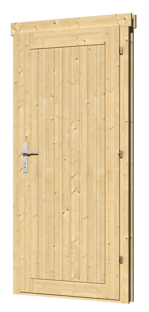 40.2032L/R Single Door - D10 W83 x H188cm - Left or Right Handed