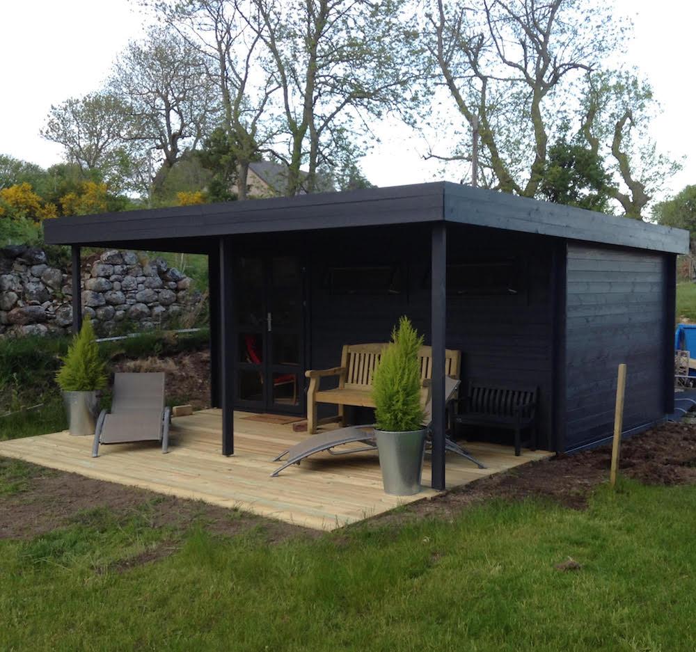 Etten Modern log cabin