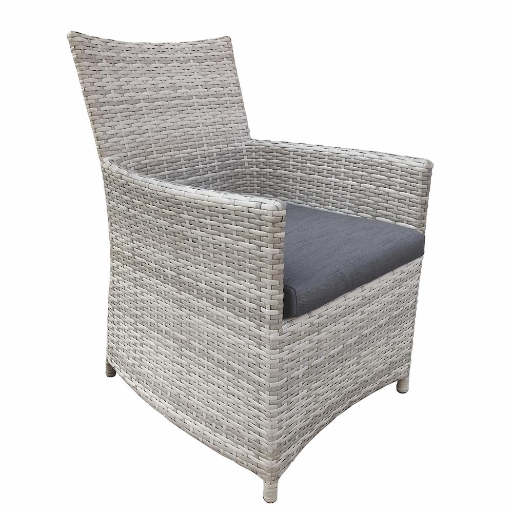 ... 31.08012 Georgetown   Grey Melange Straight/Simple Chair ...