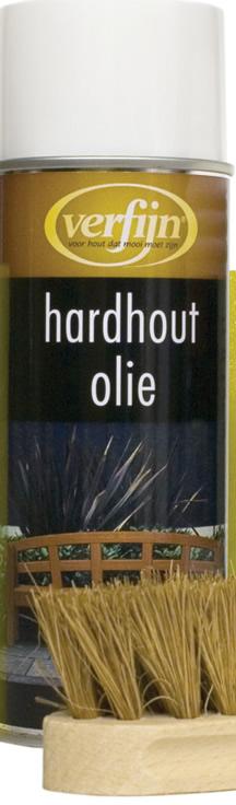 Hardwood oil spray can