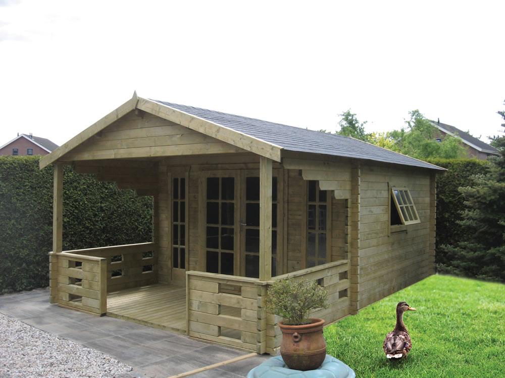 Hedvig Log Cabin