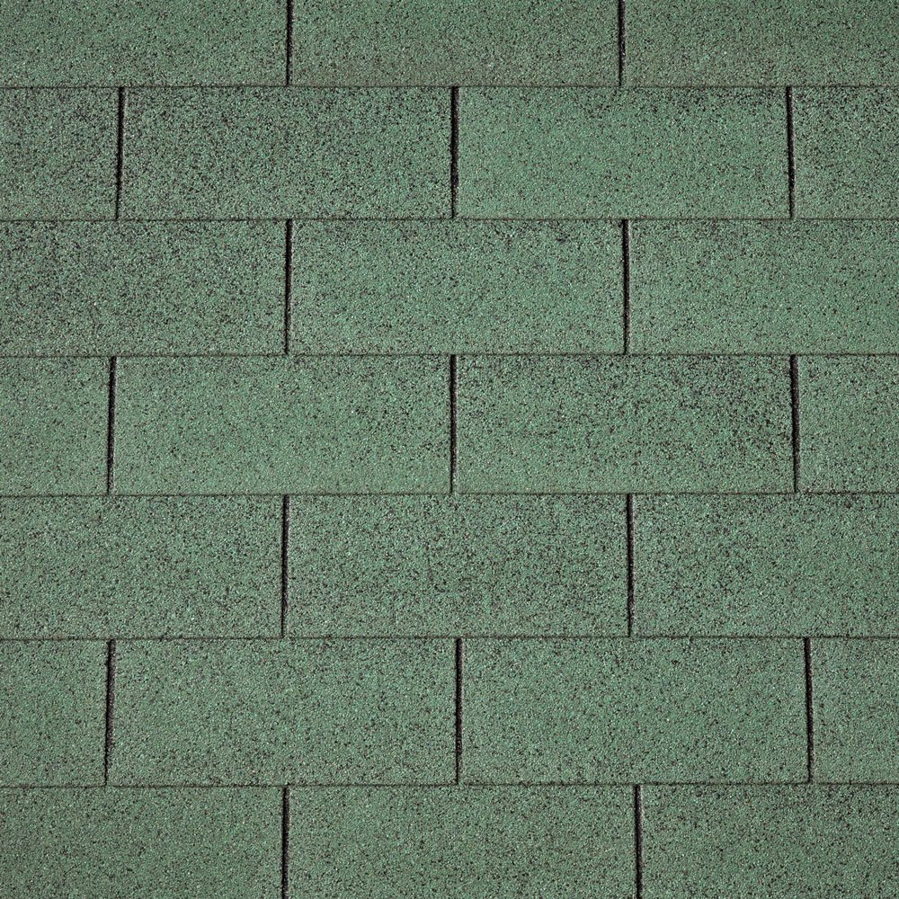 IKO Green Straight Shingles