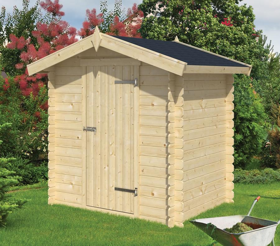 Irina 19mm small log cabin
