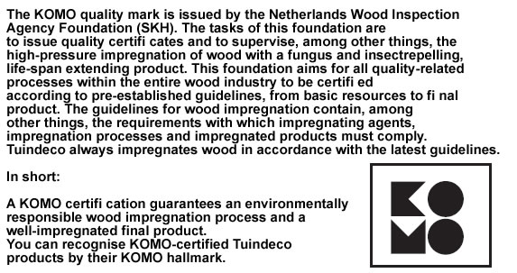 KOMO Fencing timber