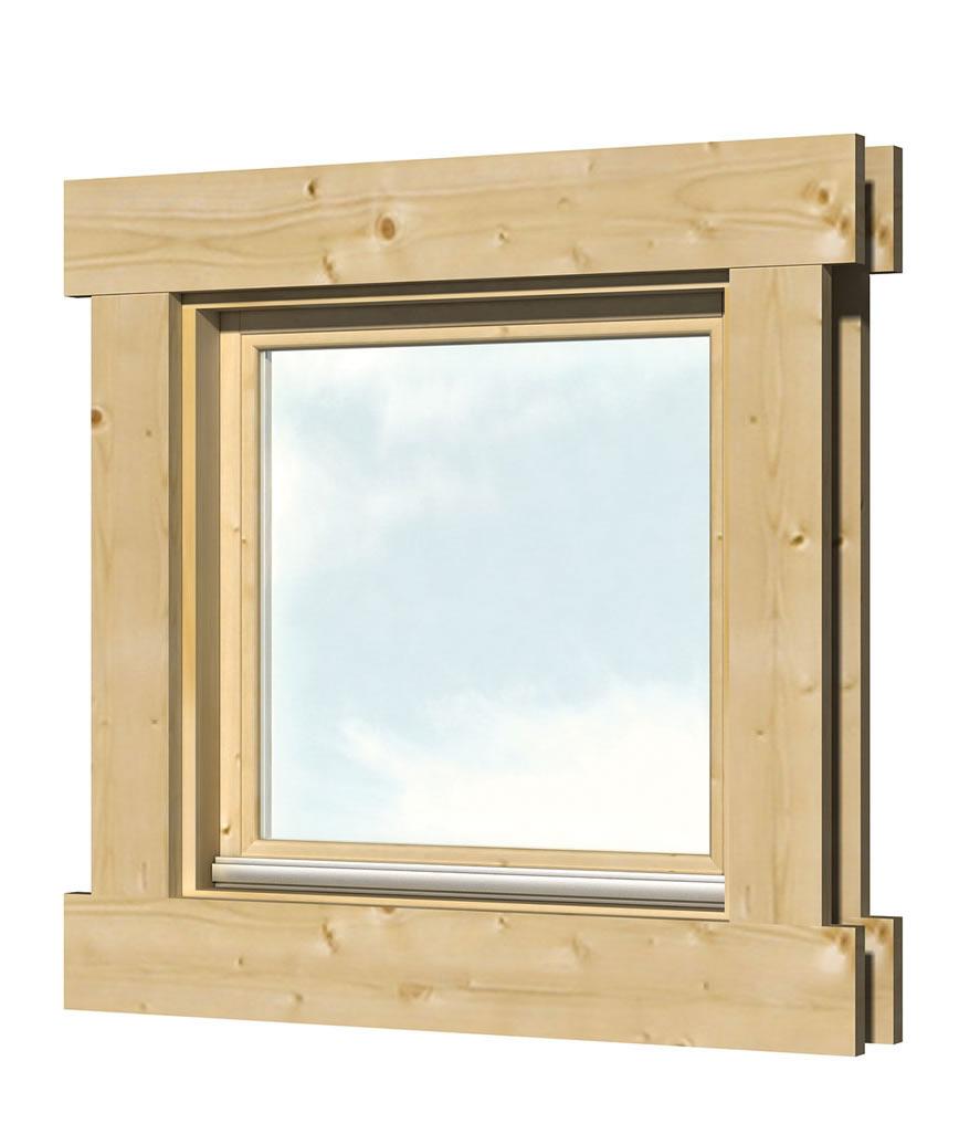 40.2023 Tilt and Turn Window - L5 - W50cm x H50cm