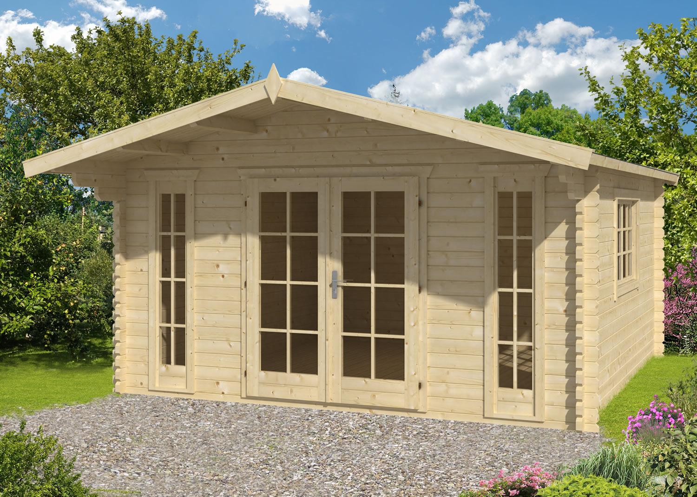 Laula Log Cabin - Glazing bars are supplied