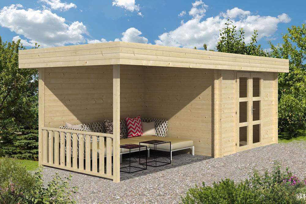 Maja Modern Log Cabin