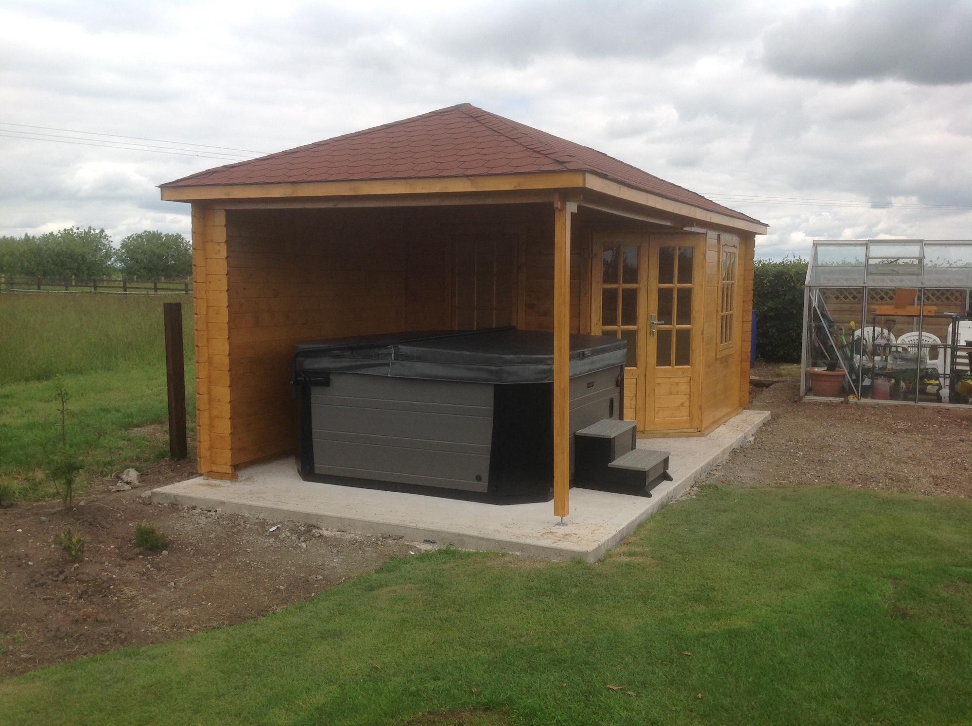 markku corner log cabin. Black Bedroom Furniture Sets. Home Design Ideas